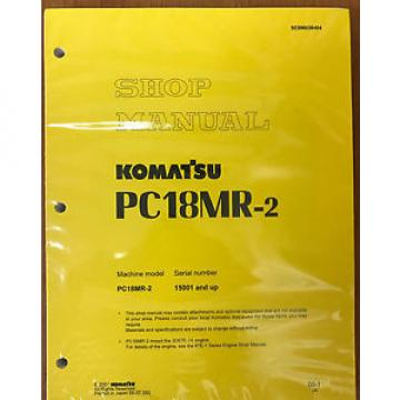 Komatsu Belarus  Service PC18MR-2 Shop Repair Manual NEW