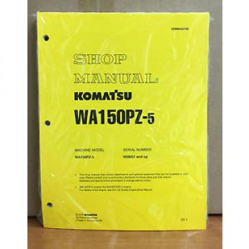 Komatsu Costa Rica  WA150PZ-5 Wheel Loader Shop Service Repair Manual