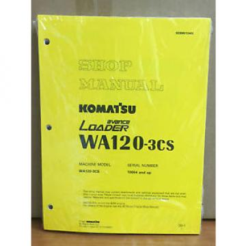 Komatsu Brazil  WA120-3CS Avance Wheel Loader Shop Service Repair Manual