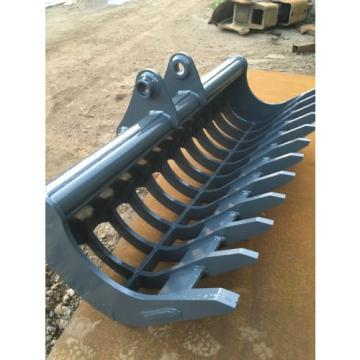 JCB Solomon Is  JS130 Rake riddle 25mm HARDOX CAT KOMATSU HITACHI JCB
