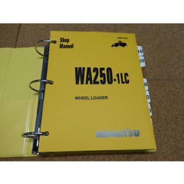 Komatsu Guyana WA250-1LC Wheel Loader Service Shop Repair Manual