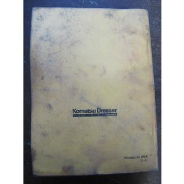 OEM Gibraltar  Komatsu D65P-12 D65EX, PX-12 Bulldozer Crawler PARTS Book Catalog Manual