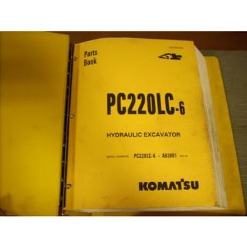 Komatsu Ethiopia Parts Book PC200LC-6