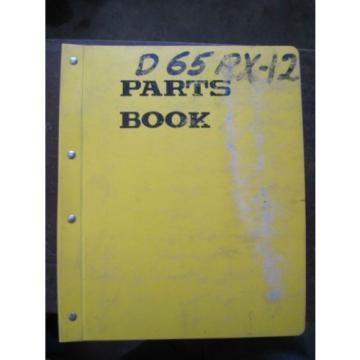 OEM Reunion KOMATSU Bulldozer Crawler D65P-12 D65PX-12 PARTS Catalog Manual Book