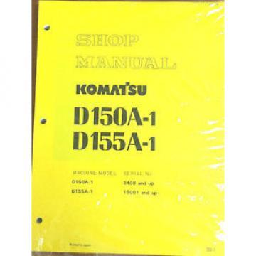 Komatsu CostaRica D150A-1, D155A-1 Crawler, Dozer, Bulldozer Shop Repair Service Manual
