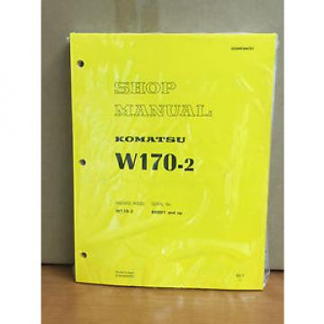 Komatsu Luxembourg  W170-2 Wheel Loader Shop Service Repair Manual