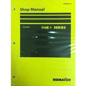Komatsu Laos  114E-5 Series Engine Factory Shop Service Repair Manual