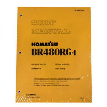Komatsu Cuba Service BR480RG-1 Mobile Crusher Repair Manual