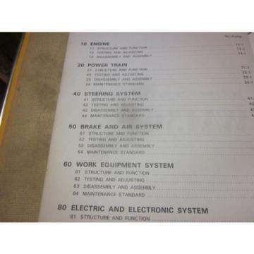 Komatsu SamoaEastern WA150-1 Wheel Loader Service Repair Manual