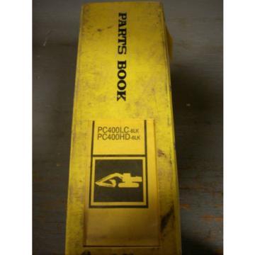 Komatsu Burma Parts Book PC400LC-6