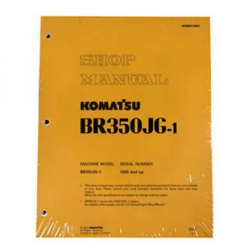 Komatsu Vietnam Service BR350JG-1 Mobile Crusher Repair Manual