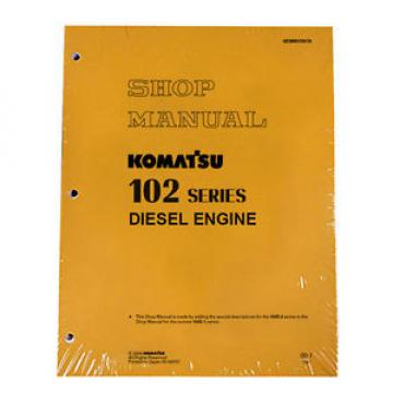 Komatsu Costa Rica  Engines 6D102E-1 & 2 102 Series Service Manual
